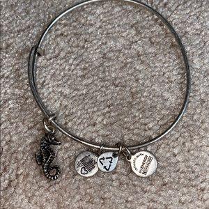 Alex & Ani Seahorse Bracelet